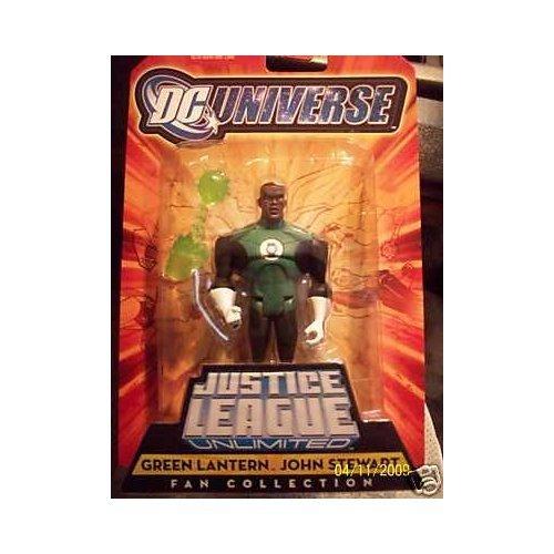 DC Universe Justice League Unlimited Fan Collection Action Figure Green Lantern John Stewart New