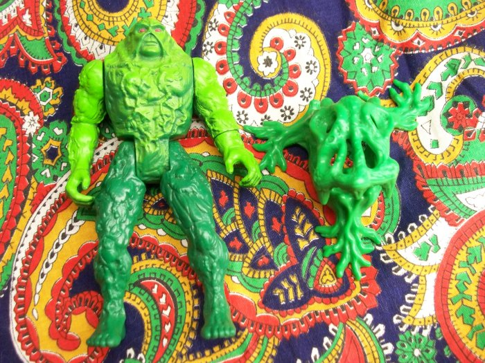 Old School Swamp Thing + Plant Trap Creature Awesome Loose Set