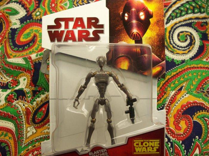 Star Wars Commando Droid New 2010 Action Figure MOC MIB