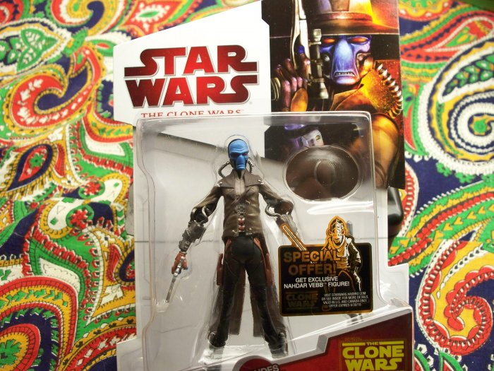 Star Wars Clone Wars Cad Bane New 2010 Action Figure MOC MIB