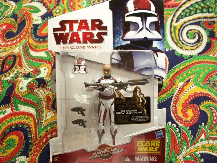 Star Wars Commander Stone New 2010 Action Figure MOC MIB