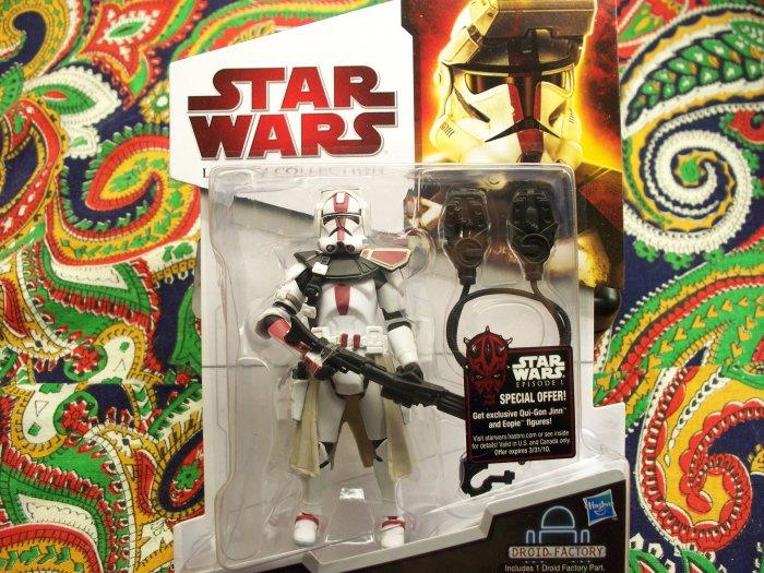 Star Wars Commander Deviss New 2010 Action Figure MOC MIB