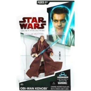 Star Wars Obi Wan New 2010 Action Figure MOC MIB