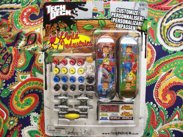 New Tech Deck Finger Board MOC MIB 2010