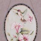 Humming Bird and Flowers Suncatcher