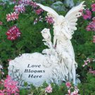 Fairy Love Blooms Here Garden Ornament