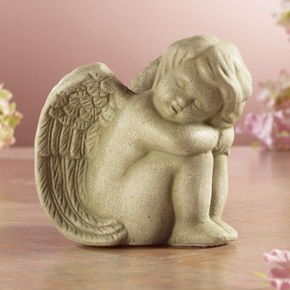 Angel Napping Statue