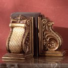 Classic French Antique-Look Bookends.