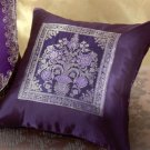 Purple Throw Pillow.