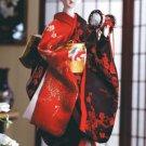 Porcelain Kabuki dancer