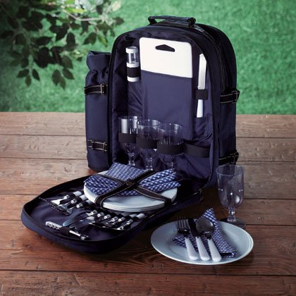 All-in-one picnic backpack