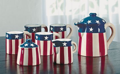 Patriotic Coffee Service