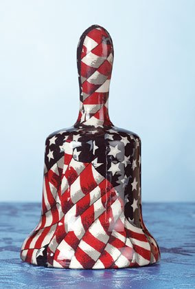 American Flag Patchwork Bell