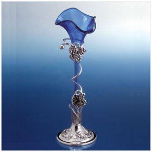 BLUE LILY VASE