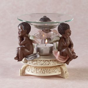 CHERUB OIL WARMER
