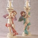 ANGELIC CANDLESTICK HOLDERS