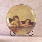 CHERUB DECORATIVE PLATE