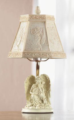 SCULPTED ANGEL LAMP