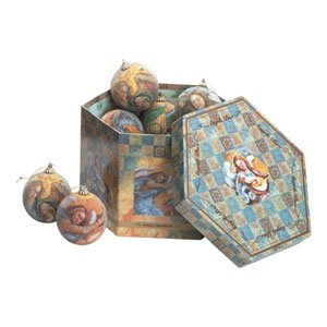 ANGEL ORNAMENTS WITH DECORATOR BOX