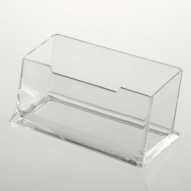Clear Acrylic Plastic Business Card Holder