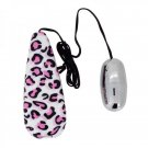 BULLET VIBRATOR SEX TOY WITH SPEED CONTROL TRAVEL FRIENDLY PINK LEOPARD - SMALL & DISCREET
