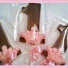 Princess First birthday chocolate lollipop party favors (1dz)