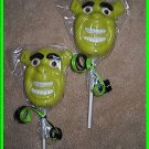 Shrek Chocolate Lollipops  (1dz)