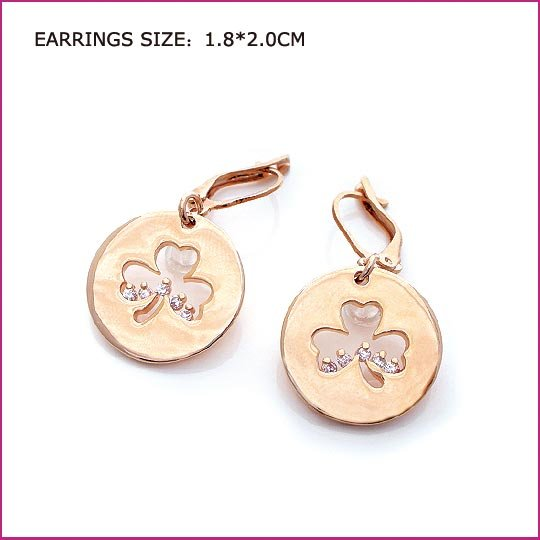 Little Flower Crystal Earring
