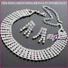 Simple Design Crystal Jewelry Set, Sets