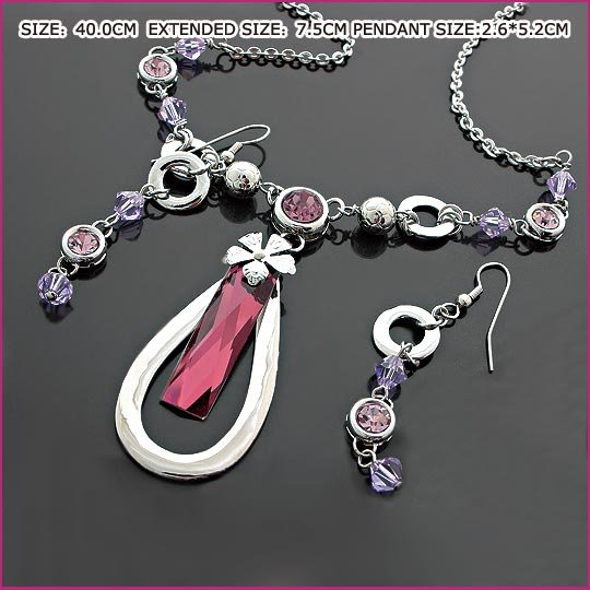 Sublimate Amethyst Jewelry Set, Sets