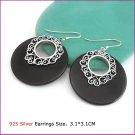 Silver (925 Sterling) Earring, Earrings, Sterling Silver
