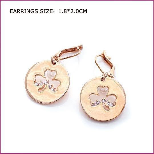 Little Flower Crystal Earring, Pierced earrings, Earrings