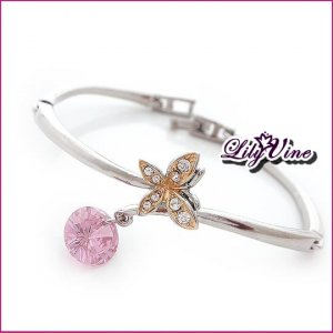 Golden Plated Butterfly Bangle, Bangles