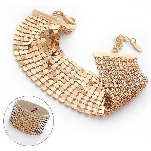 Shining Golden Bracelet, Bracelets