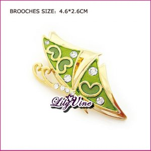 Flying Butterfly Brooch, Brooches