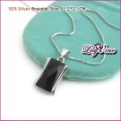 Pure Black Silver (925 Sterling) Pendants, Pendants, Sterling Silver