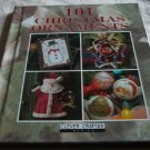 101 CHRISTMAS ORNAMENTS Hardcover Book