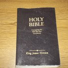 Barbour King James Version Holy Bible - Black