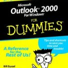 Outlook 2000 for dummies