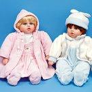 "20 "" Porcelain Sitting Baby Dolls"
