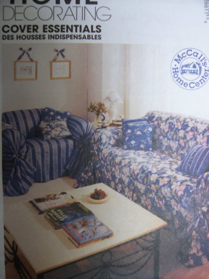 McCall's Home Decorating Pattern 2661 Cover Essentials