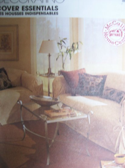 McCall's Home Decorating Pattern 2161 Cover Essentials