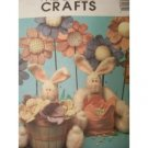 McCall's Crafts Pattern 3206 Cottontail And Field Flowers