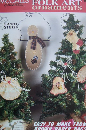 McCall's Creates Booklet - Folk Art Ornaments