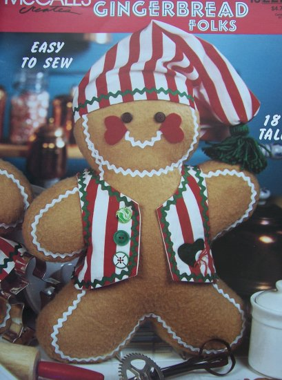 McCall's Creates Booklet - Gingerbread Folks
