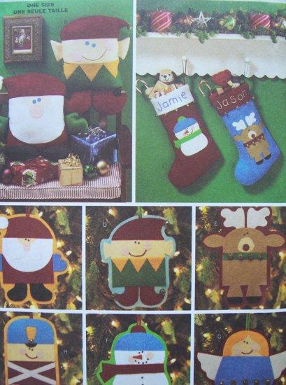 Butterick Craft Pattern 3330 - Christmas Accessories