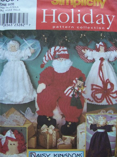 Simplicity Holiday Pattern Collection 8891 - Daisy Kingdom