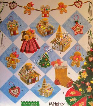 Simplicity Pattern 4810 Christmas Decorations - Holiday Pattern Collection