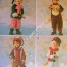 Simplicity Pattern 3916 Toddlers Costumes - Holiday Pattern Collection