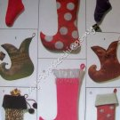 McCall's Crafts Pattern 4993 Christmas Stockings